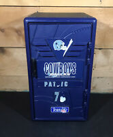 "Vintage Suncast Dallas Cowboys Locker Mini 2ft 24"" RARE NFL Football Retro EUC"