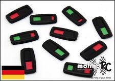 10x ON/OFF grün/rot Ladestandanzeiger Ladestandsanzeiger Lipo Akku Marker