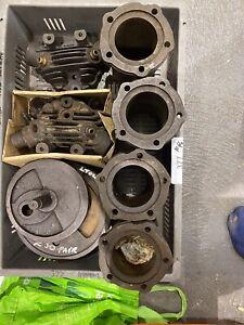 JAP Vintage Motorcycle Engine  Barrell's 500cc Pistons , Genuine Parts Vintage