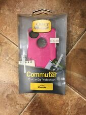 New OtterBox Commuter Series Hot Pink/White Case For iPhone 4s