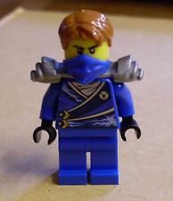 Lego Ninjago Figur - Jay mit Rüstung ( blau Armor silber Haare Rücken ) Neu