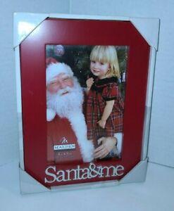 """Malden 4x6 """"Santa & Me"""" Christmas Frame, NEW from Kohl's"""