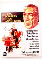 Les souliers de Saint-Pierre - Anthony QUINN / Laurence OLIVIER - Très bon état