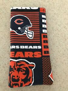 Sunglass / Eyeglass Soft Fabric Case - Chicago Bears - Block Style - NFL - NEW!