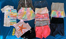 Toddler Girls clothing size 4T Lot of 16 pieces Summer Shirts Skorts Pajamas
