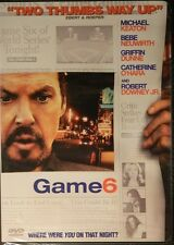 GAME 6 (2005) Michael Keaton Robert Downey Jr Bebe Neuwirth Griffin Dunne SEALED