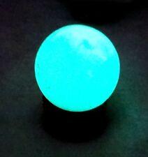 35*35mm Glow in The Dark Stone Luminous Quartz Crystal Sphere Ball 70g
