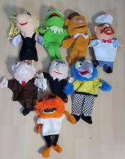 Muppets Hand Puppets 11'' Kermit, Animal, Waldorf, Fozzie, Complete Set - Dutch