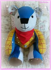 CUSTOM HANDMADE MEMORY/KEEPSAKE SOFT AND CUDDLY CHUNKY BEAR