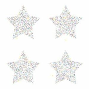 Dazzle Chart Seals Stars Silver