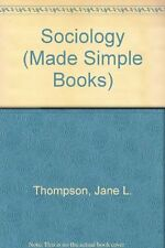 Sociology (Made Simple Books),Jane L. Thompson