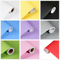 10m Self Adhesive Contact Paper Kitchen Bathroom Home Decor Wall Sticker Roll