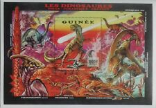 Dinosaurs Prehistoric animals Tyranosaurus Rex Guinea s/s #M203