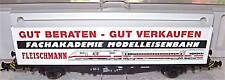 Fachakademie Vagone per Container Fleischmann 95 5243 Conf. Orig. 1:87 Å GA5