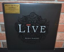 LIVE - Secret Samadhi, Limited Import 180G 2LP COLORED VINYL #'d Jacket + Poster