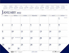 House Of Doolittle 2022 Monthly Desk Pad Calendar Classic 22 X 17 Inches