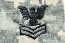 Navy Usn Ia E-6 Po1 Rank Army Acu Camouflage Camo Uniform Patch Uncut 3 Pc. Lot