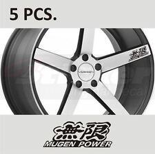 5 pcs Honda Mugen №1 Civic ACCORD Fit CR-V Door Handle Wheel sticker decal