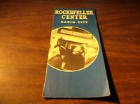 1930's ROCKELLER CENTER RADIO CITY NEW YORK CITY BROCHURE