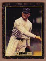Walter Johnson '24 Washington Senators Ultimate Baseball Card Collection #43