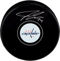 John Carlson Washington Capitals Signed Hockey Puck - Fanatics