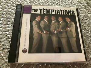 2 Cds The Best of THE TEMPTATIONS, 1995