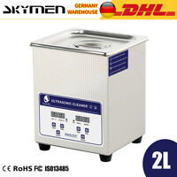 Ultraschallreinigungsgerät Ultraschallreiniger Cleaner 2L with Timer Heater