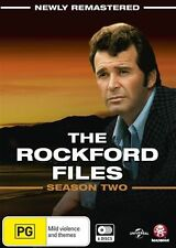 The Rockford Files: Season 2 (Newly Remastered) - James Garner NEW R4 DVD
