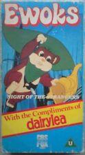 Star Wars Ewoks Night of the Strangers VHS