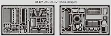 Eduard 1/35 ZSU-23-4V1 Shilka para Dragon Kit # 35477