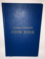 Mama Segedi's Croatian Cook Book Autographed Stefa & Judith First Edition 1st ED