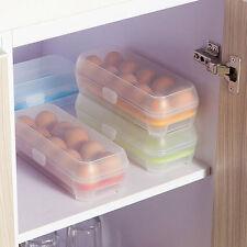 Fridge Egg Holder Freezer Multicolor Tray Box Storage Case 10PCS Eggs Plastic