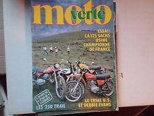 moto verte n53 sept78 125 sachs usine les 250 trail