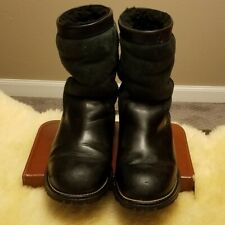 UGG Boots, Black & Forest Green, Sz 8