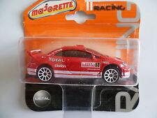 PEUGEOT  307 cc  WRC   n°5   MAJORETTE   1/58   métal  neuf   blister non ouvert