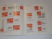 VINTAGE 1970 COCA COLA VINYL LETTERING APPLICATION GUIDE! MAKING COKE SIGNS!