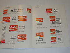 VINTAGE 1970 COCA COLA VINYL LETTERING APPLICATION GUIDE! MAKING COKE SIGNS!
