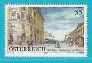 Österreich aus 2004 ** postfrisch MiNr. 2494 Floridsdorf Straßenbahn
