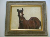 JIM REY OIL PAINTING HORSE HORSES WESTERN PORTRAIT  IMPRESSIONIST IMPRESSIONISM