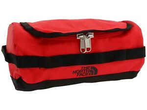 North Face Base Camp Travel Canister New With Tags Small TNF Red
