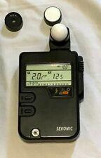 Sekonic Digi-Lite F Model L-328 Flash Ambient Meter, used good condition