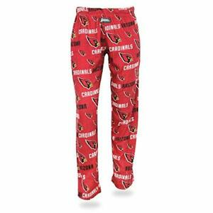 Zubaz NFL Women's Arizona Cardinals Comfy Lounge Pants, Red