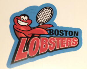 Boston Lobsters WTT (World Team Tennis) sticker