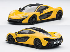 MCLAREN P1 VOLCANO YELLOW 1/43 DIECAST CAR MODEL BY AUTOART 56011