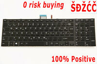 Slovenian Croatian Keyboard for Toshiba Satellite S50-A S55-A S70 S75-A Backlit