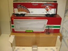 LGB #46913 Campbell's Soup 100th Anniversary Boxcar Car, Factory New G Gauge.