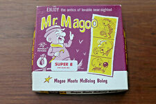 "*Mr Magoo* 8mm Vintage Cartoon Movie ~ ""Magoo Meets McBoing Boing"""