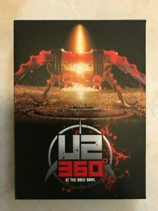 COFANETTO  DOPPIO DVD U2 360° LIVE AT ROSE BOWL