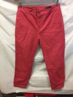 Polo Ralph Lauren Red Casual Pants Boys Sz 16