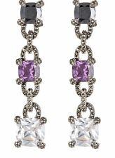 Linear Drop Earrings $250.00 New listing New Judith Jack Gemstone